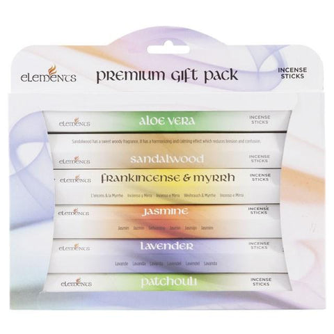 Elements Premium Incense 120 Sticks Gift Pack