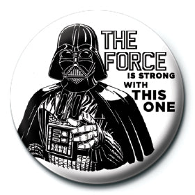 Star Wars - The Force is Strong 25mm Button Badge