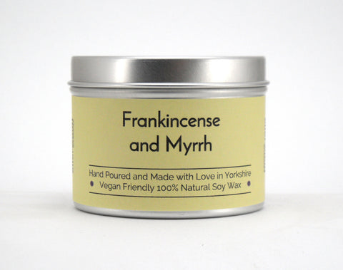 Frankincense and Myrrh Soy Wax Candle