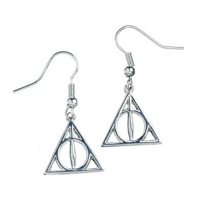 Harry Potter Deathly Hallows Earrings from Mystical and Magical Halifax