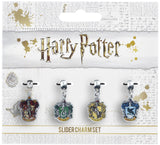 House Charms set  Gryffindor, Hufflepuff, Ravenclaw and Slytherin
