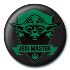 Star Wars Jedi Master 25mm Button Badge