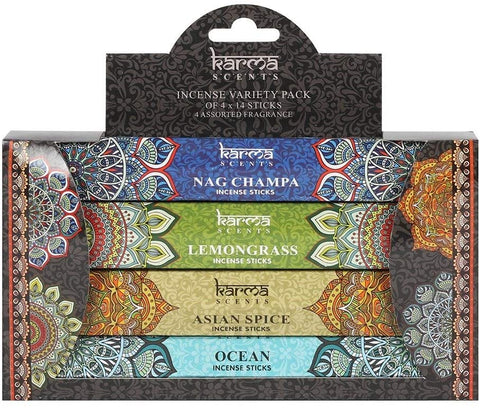 Karma Variety Pack 56 Incense Sticks