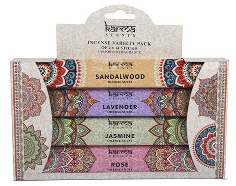Karma Incense Stick  Variety Pack 56 Sticks