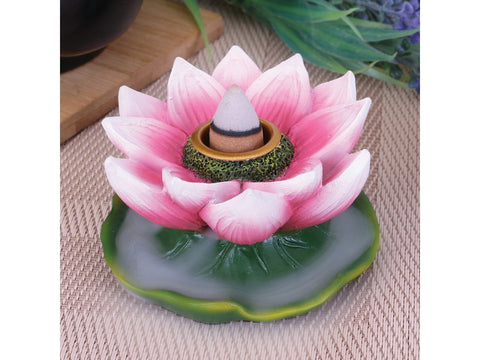 Lotus of Purity Backflow Incense Cone Holder