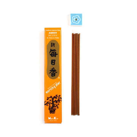 Nippon Kodo Morning Star Amber Scent Japanese Incense Sticks