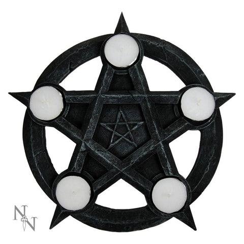 Nemesis Now Pentagram Tealight Holder 26cm