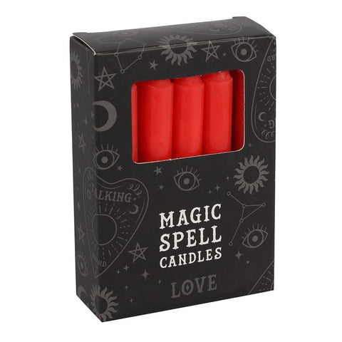 Pack of Red Magic Love Spell Candles from From Mystical and Magical
