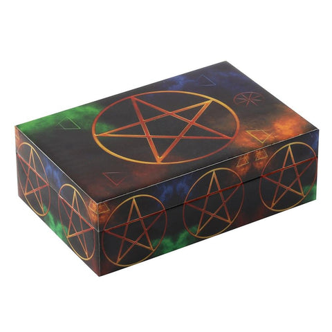 Pentacle Tarot Card Storage Box