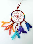 Dream Catcher Dreamcatcher Rainbow and Feathers.