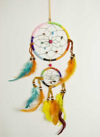 Rainbow Dreamcatcher Dream Catcher from Mystical and Magical Halifax