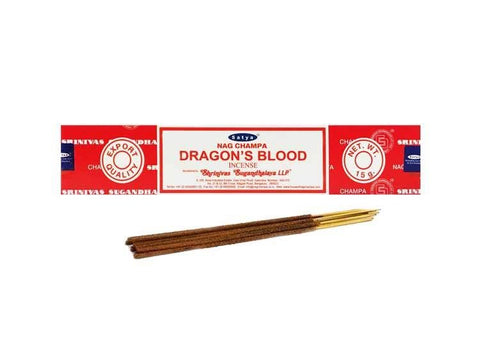 Box of Satya Dragons Blood Incense Sticks