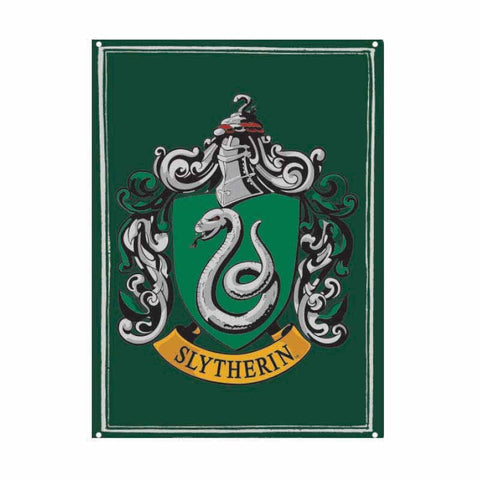 Harry Potter - Slytherin Crest Tin Sign