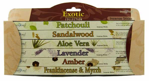 Stamford Exotic Incense Sticks Gift Pack