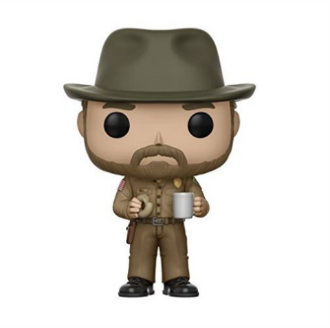 Stranger Things Hopper with Donut #512  Funko POP Vinyl Figure Collectible