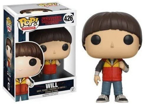 boxed Stranger Things Will Funko POP Vinyl Figure Collectible Toys 13325