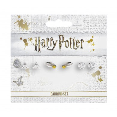 Official Harry Potter Earrings These charm earrings have been created from the official Warner Bros style guide.