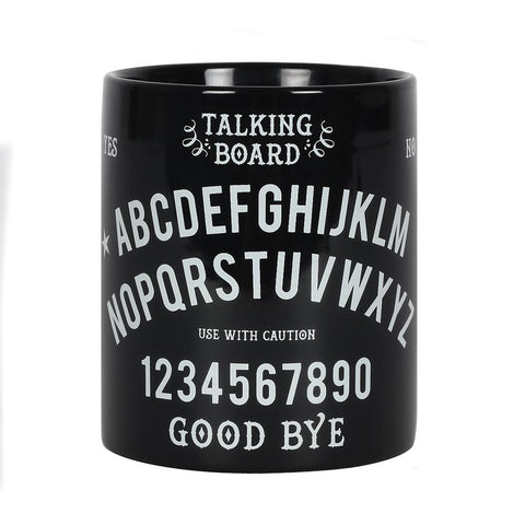 Black and White Talking Board Mug
