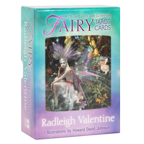 Fairy Tarot Cards 78-Card Deck and Guidebook Radleigh Valentine