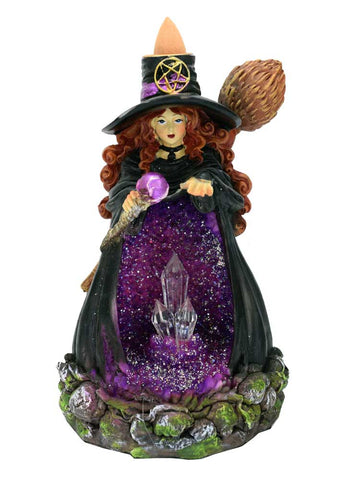 Witch Light Up Backflow Incense Cone Holder