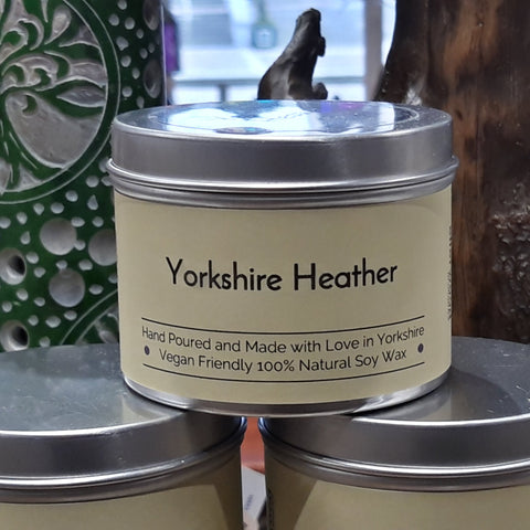 Yorkshire Heather Soy Wax Candle from Mystical and Magical Halifax