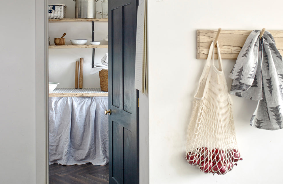 net bags - provision bags - kitchen - natural home - nordic kitchen - scandinavian home - concept store