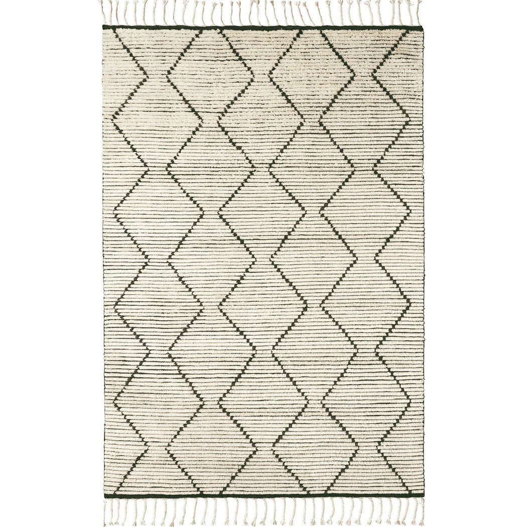 Armadillo and Co Nala Rug in Natural - Armadillo and Co Rugs - Natural Rugs - Eco Friendly - Sustainable Design - Natural materials - Nordic Living - Hand Woven - Hand Knotted - Fair trade Rugs -Armadillo and Co