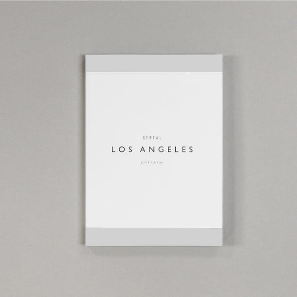 Cereal City Guide Los Angeles - Pocket Guide - Travel - Editorial - Photography - Cereal - Los Angeles