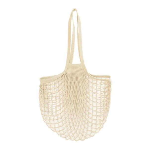 Filt France Net Bags - Short Handle Natural Net Bag - Say No To Plastic - Less Waste - Sustainable Design - Net Bags - Sustainable Living - Environmentally Friendly - Net Bags - Say No To Plastic - Natural | Freyr and Fell