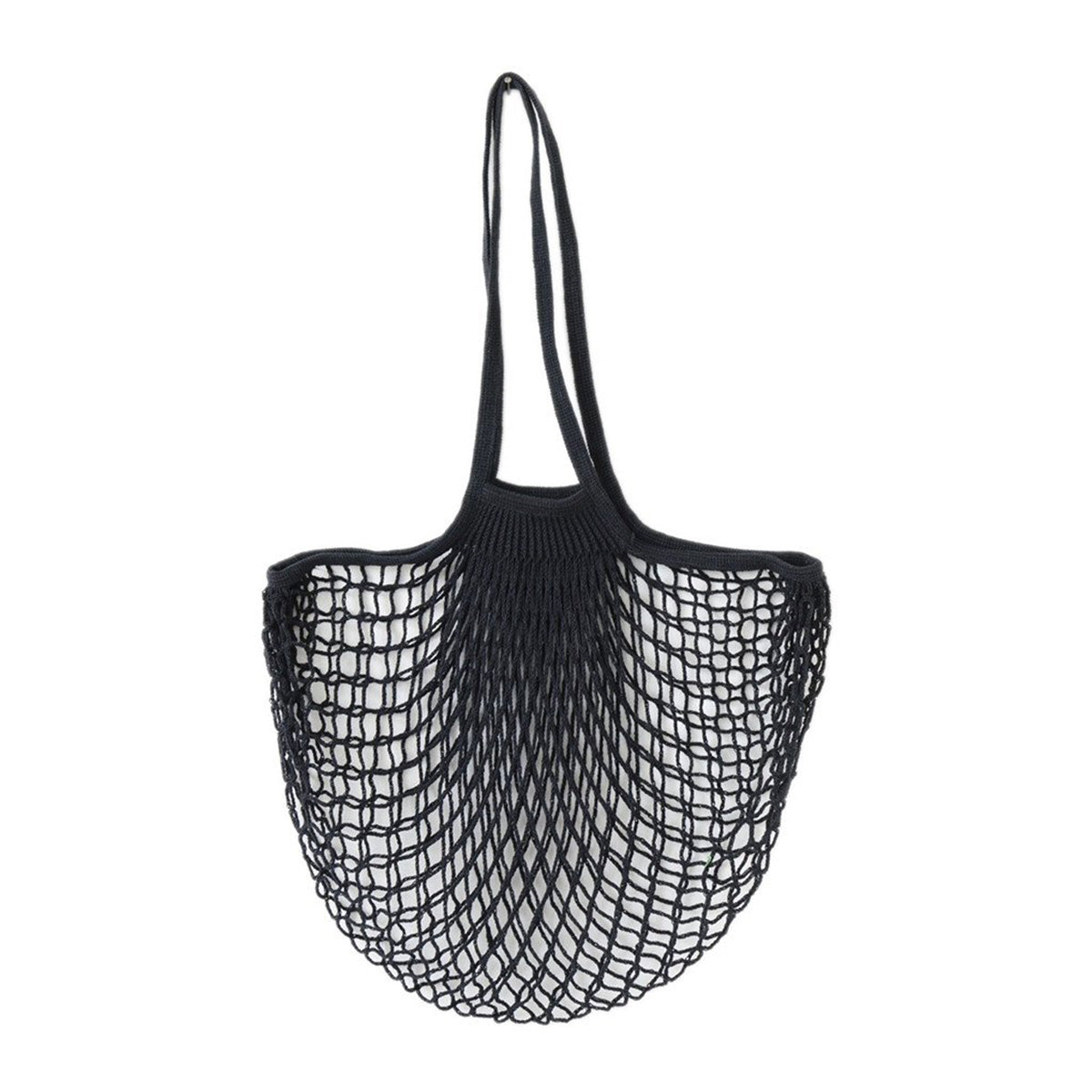 Filt France Net Bags - Long Handle Net Bag - Natural - Net Bags - Sustainable Living - Environmentally Friendly - Net Bags - Say No To Plastic - Black | Freyr and Fell