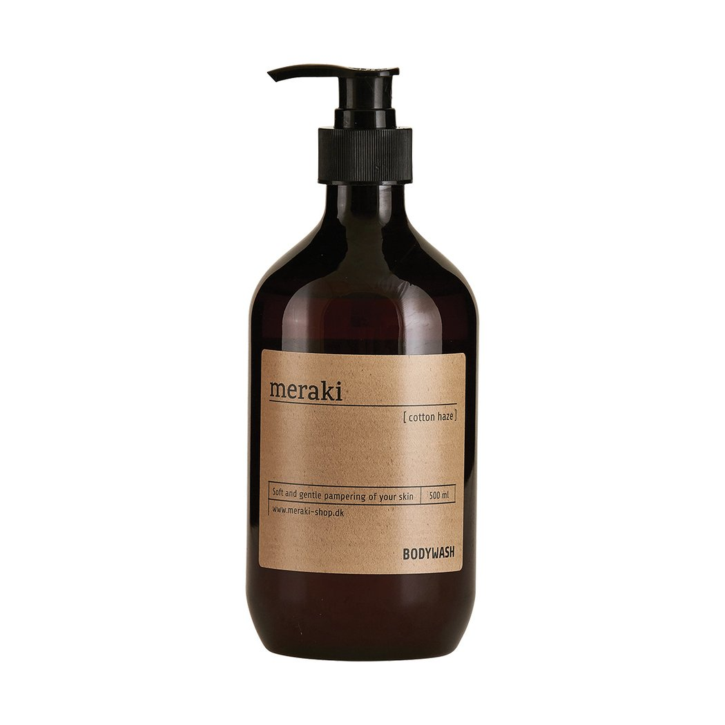 Meraki Cotton Haze - Paraben Free Body Wash - Natural Skincare - Clean Beauty - Body Wash - Natural  - Responsibly Sourced - Colourant Free - Natural Beauty | Slow Living - Live Beautifully | Nordic Living | Clean Beauty