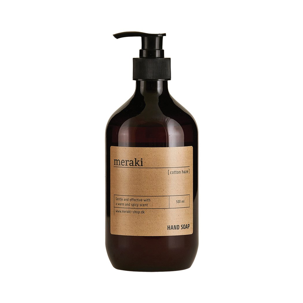 Meraki | Cotton Haze Paraben Free Hand Soap | Natural Skincare - Natural Beauty - Danish Skincare - Clean Beauty - Organic Skincare - Colourant Free - Gentle Cleansing | Healthy Living | Nordic Living | Slow Living | Meraki - Cotton Haze - Hand Soap