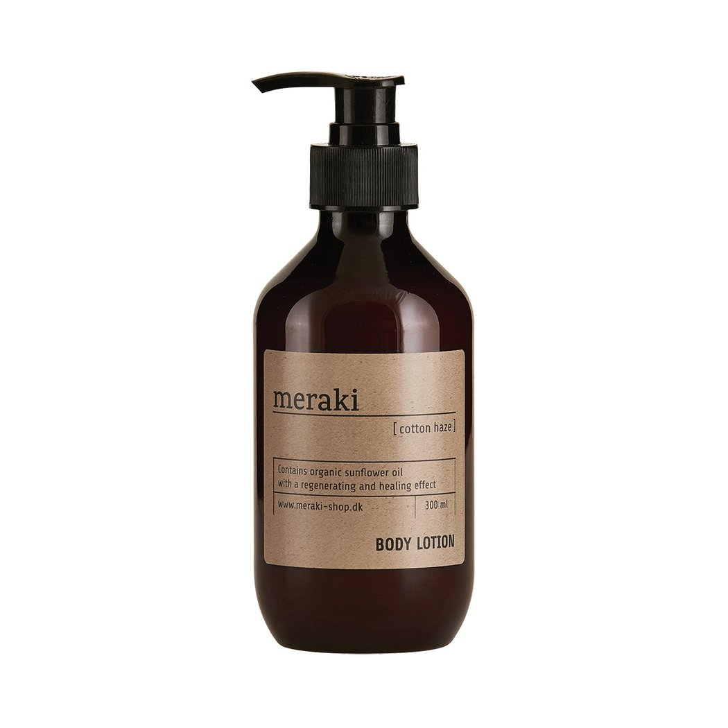 Meraki |  Meraki - Cotton Haze - Paraben Free -  Moisturising Body Lotion - Natural Skincare - Clean Beauty - Moisturiser - Responsibly Sourced - Colourant Free - Natural Beauty | Slow Living - Live Beautifully | Nordic Living | Clean Beauty - Cotton Haze