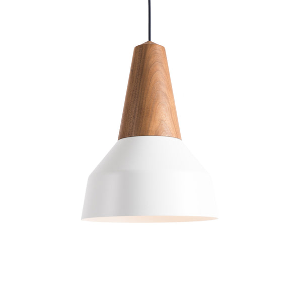 Schneid - Schneid Lighting - Schneid Eikon Lamp Basic - Niklas Jessen - Sustainable Design  - German Design - Lighting -Walnut - Modular Lighting | Sustainable Living | Simple Design