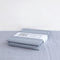 Organic Cotton Fitted Sheet Lindbacken Tranquil Grey - Swedish Linens - Swedish Linens Lindbacken - Scandinavian Design - Eco Friendly - Nordic Home - Bed Linen - Organic Cotton