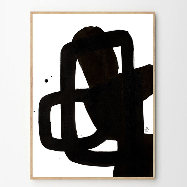 The NO 03 print by Malene Birger - the poster club - freyr and fell