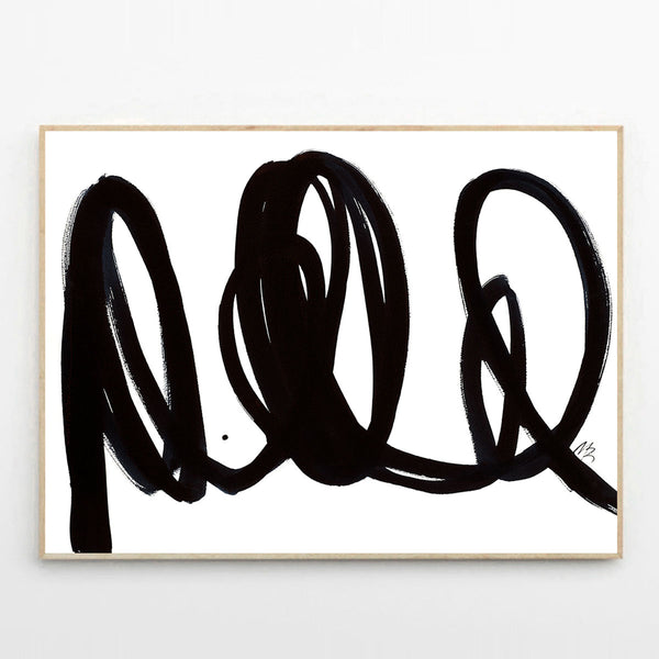 The NO 06 print by Malene Birger - the poster club - freyr and fell