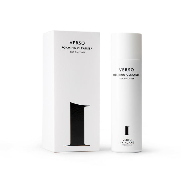 Verso Skincare Foaming Cleanser - Verso Skincare - Natural Beauty | Scandinavian Beauty | Clean Beauty | Paraben Free - Nordic Living - Slow Living | British Vogue | Luxury Skincare - Bridal Beauty