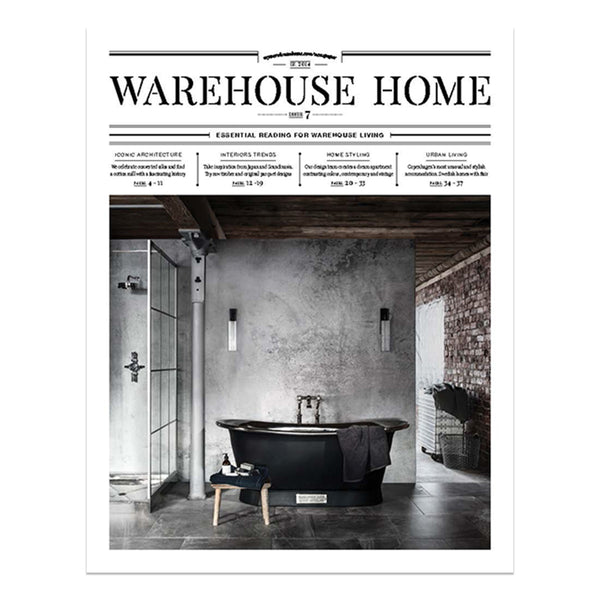 Warehouse Home Magazine - Interior Styling - Editorial | Interior Design - Industrial Design - Warehouses | Beautiful Homes