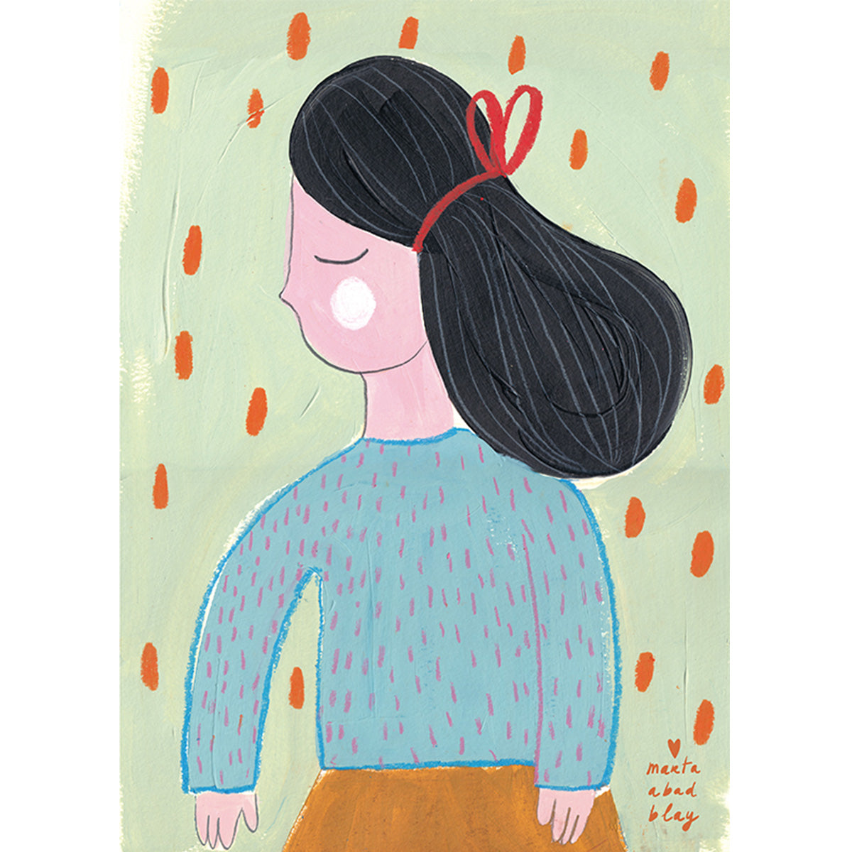 What Penny Wants Print Marta Abad Blay - What Penny Wants - Illustrator - Artwork - Childrens Artwork - Nursery Decor - Girl Print - Marta Abad Blay - Natural Home - Sustainable Design .jpg