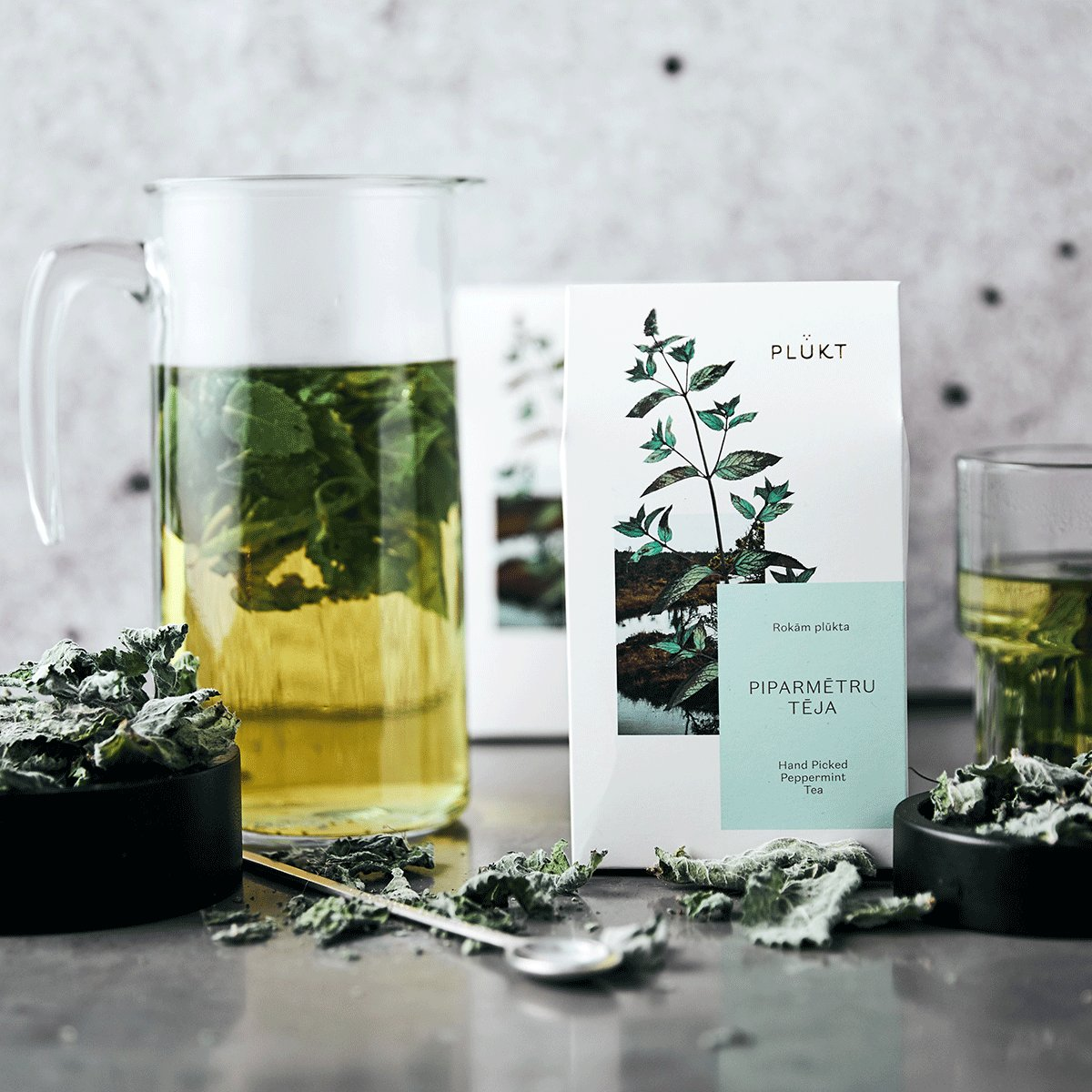 plukt tea - freyr and fell - peppermint tea - herbal tea - sustainable living - natural home - wellbeing