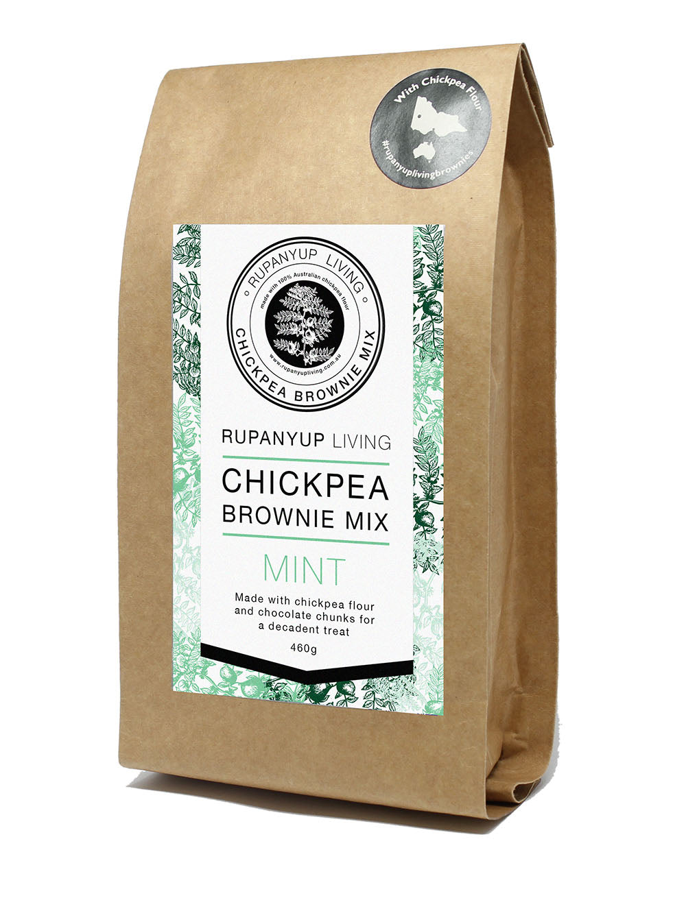 Chickpea Brownie Mix - Mint