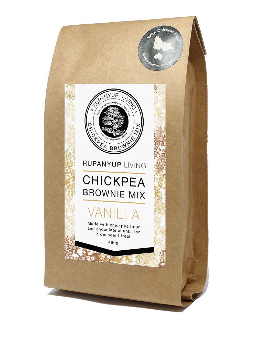 Chickpea Brownie Mix - Vanilla
