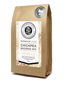 Rupanyup Living Chickpea Brownie Mix - Vanilla