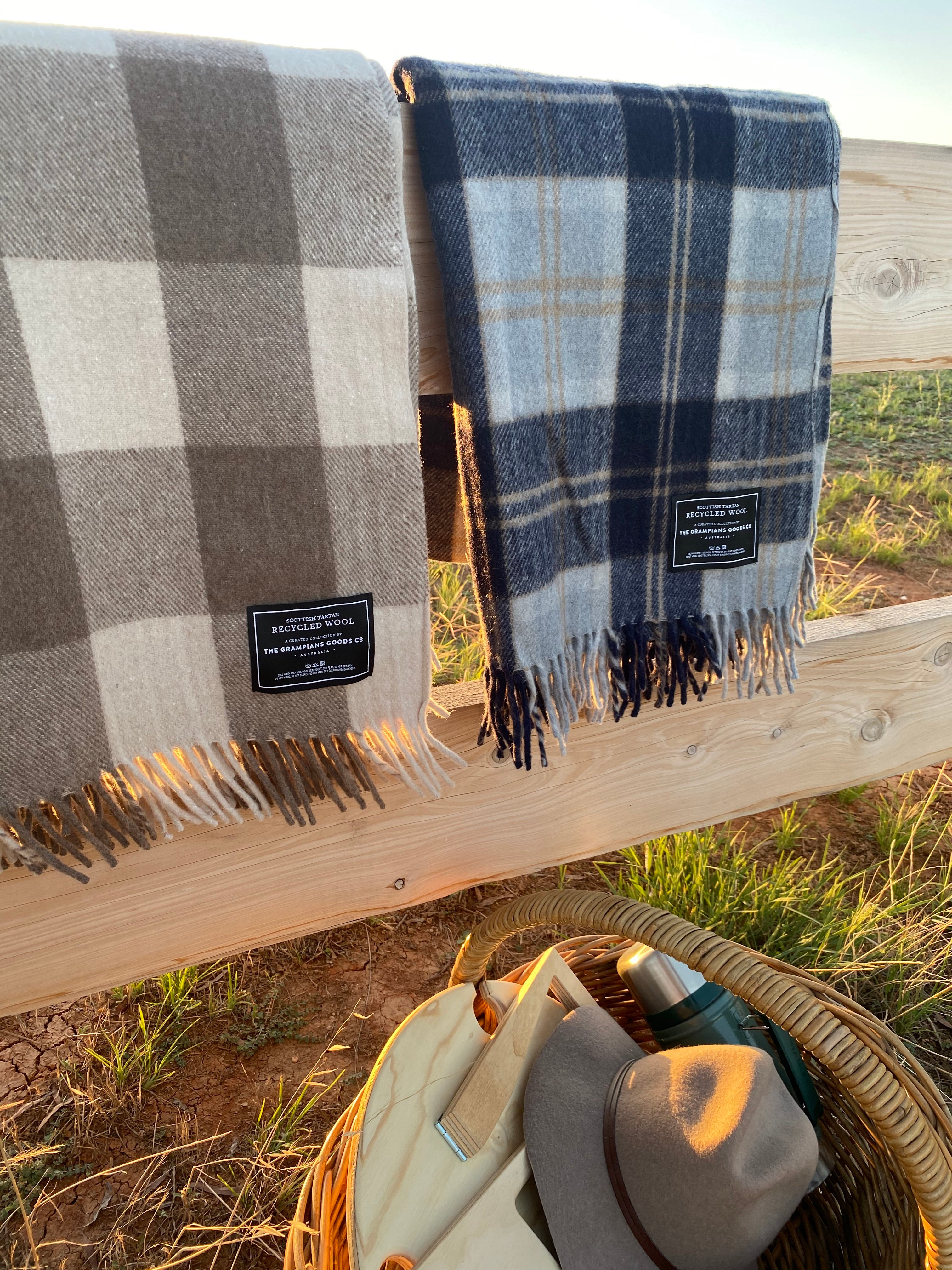 The Grampians Goods Co. Blanket