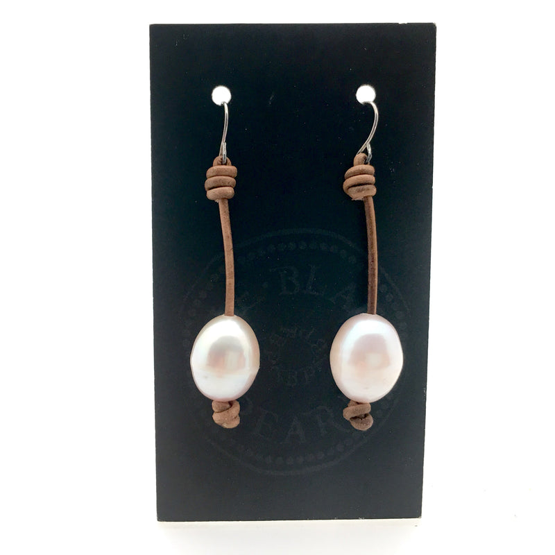 Long Drop Pearl Earring