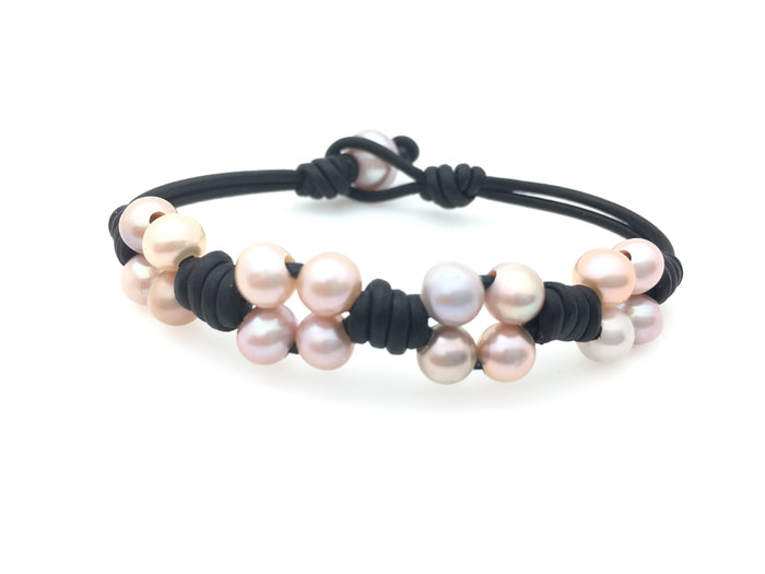 4 Sets of 4 Pearls Bracelet