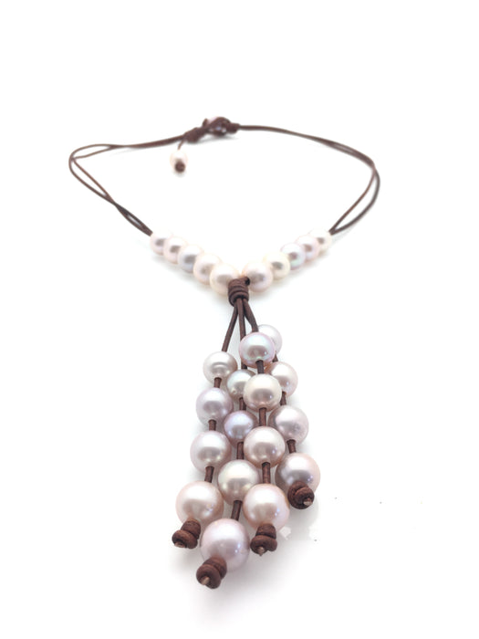 Cluster of Pearls Necklace