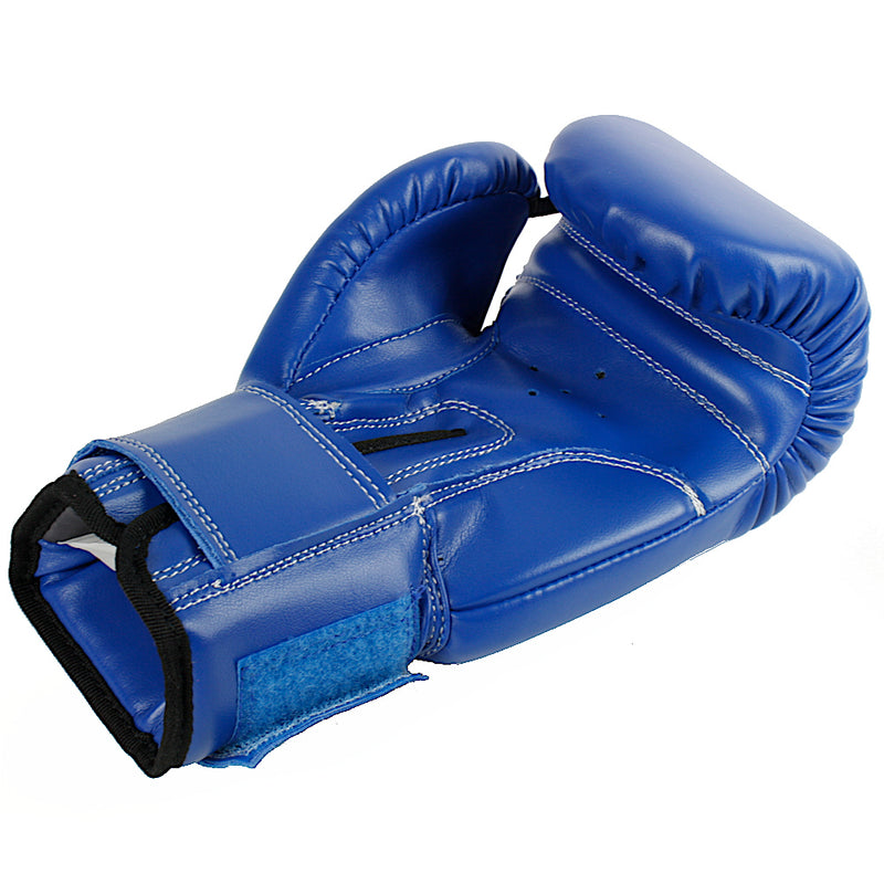 Kids Junior Urban Boxing Gloves Blue Inside - Punch