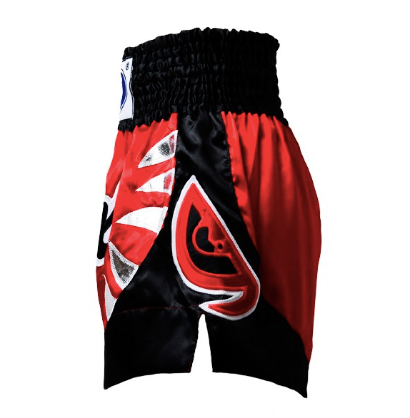 Fairtex Muay Thai Shorts - Yodsanklai Bite - Red/Black (BS0611)